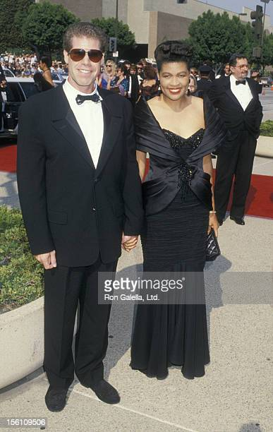 Actor Ron Perlman and wife Opal Stone attend 40th Annual Primetime Emmy Awards on August 28 1988 at the Pasadena Civic Auditorium in Pasadena...
