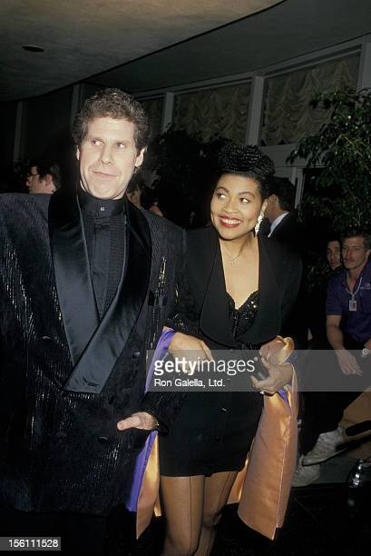 Actor Ron Perlman and wife Opal Stone attend 45th Annual Golden Globe Awards on January 23 1988 at the Beverly Hilton Hotel in Beverly Hills...