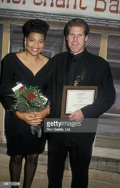 Actor Ron Perlman and wife Opal Stone attend Second Annual Quality Viewing Television Awards on September 17 1988 at the Beverly Garland Hotel in...