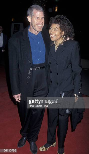 Actor Ron Perlman and wife Opal Stone attend the world premiere of 'Dante's Peak' on February 5 1997 at the Universal Ampitheater in Universal City...