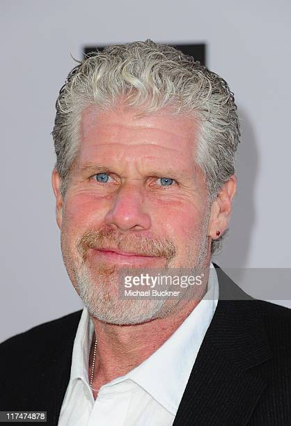 Actor Ron Perlman arrives at the Los Angeles Film Festival's Closing Night premiere of Don't Be Afraid Of The Dark at Regal Cinemas LA Live on June...
