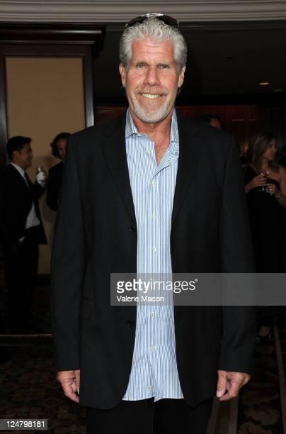 Actor Ron Perlman arrives ate National Multiple Sclerosis Society's 37th Annual Dinner Of Champion at the Hyatt Regency Century Plaza on September 12...