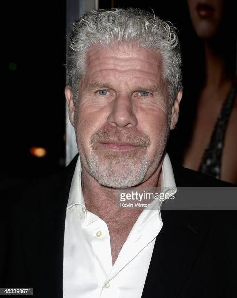 Actor Ron Perlman attends Columbia Pictures And Annapurna Pictures' American Hustle Special Screening at Directors Guild Of America on December 3...