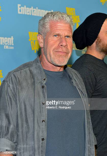 Actor Ron Perlman attends Entertainment Weekly's 6th Annual ComicCon Celebration sponsored by Just Dance 4 held at the Hard Rock Hotel San Diego on...