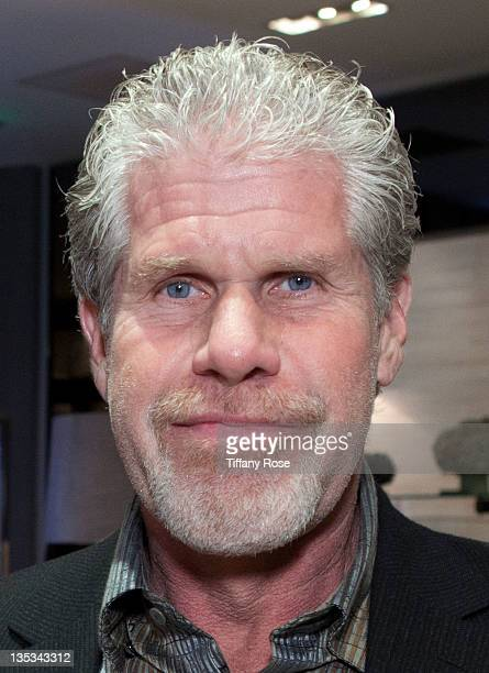 Actor Ron Perlman attends Opal Stone Luxury Handbags And Fine Jewelry Launch at Gray Gallery on December 8 2011 in Beverly Hills California