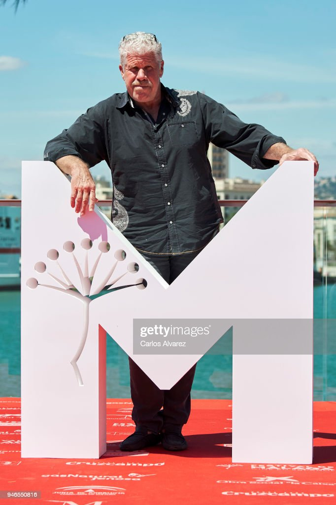 Actor Ron Perlman attends 'Sergio and Sergei' photocall during the 21th Malaga Film Festival on April 15, 2018 in Malaga, Spain.