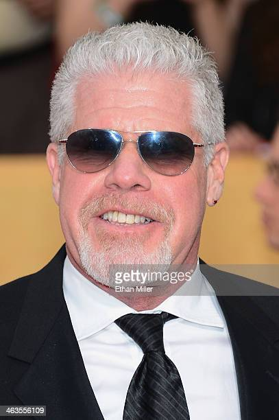 Actor Ron Perlman attends the 20th Annual Screen Actors Guild Awards at The Shrine Auditorium on January 18 2014 in Los Angeles California