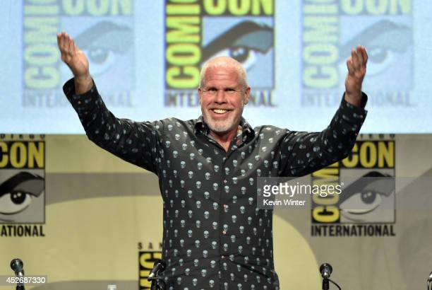 Actor Ron Perlman attends the 20th Century Fox presentation during ComicCon International 2014 at San Diego Convention Center on July 25 2014 in San...