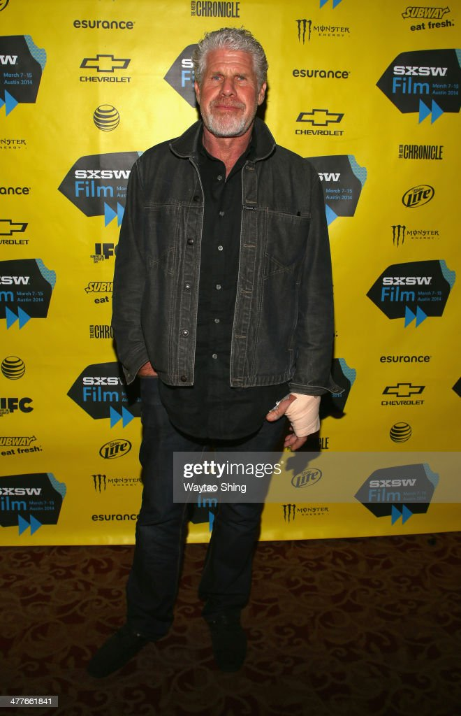 Actor Ron Perlman attends the 'Before I Disappear' Photo Op and Q&A during the 2014 SXSW Music, Film + Interactive Festival at Alamo Ritz on March 10, 2014 in Austin, Texas.