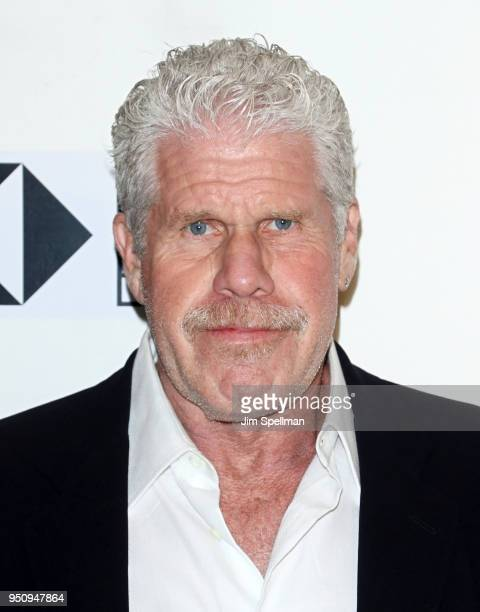 Actor Ron Perlman attends the Disobedience premiere during the 2018 Tribeca Film Festival at BMCC Tribeca PAC on April 24 2018 in New York City