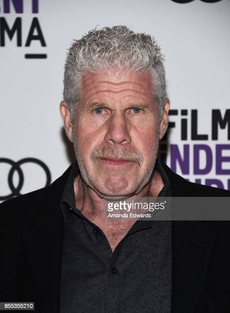 """Actor Ron Perlman attends the Film Independent at LACMA Screening and Q+A of """"Startup"""" at LACMA on September 28, 2017 in Los Angeles, California."""