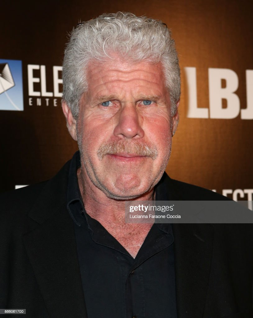 Actor Ron Perlman attends the premiere of Electric Entertainment's 'LBJ' at ArcLight Hollywood on October 24, 2017 in Hollywood, California.