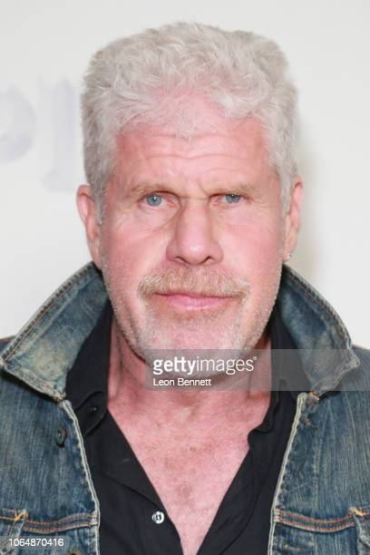 Actor Ron Perlman attends the premiere of Vertical Entertainment's Pimp at Pacific Theaters at The Grove on November 07 2018 in Los Angeles California