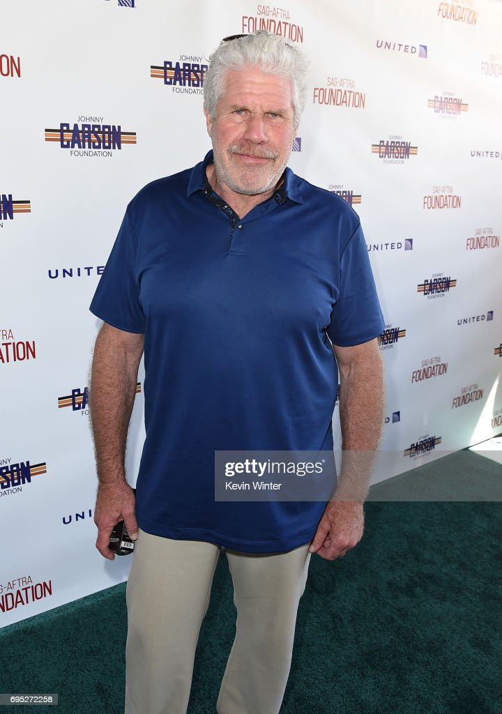 Actor Ron Perlman attends the SAG-AFTRA Foundation 8th Annual L.A. Golf Classic Fundraiser at Lakeside Golf Club on June 12, 2017 in Los Angeles, California.