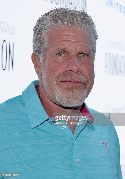 Actor Ron Perlman attends the Screen Actors Guild Foundation 4th Annual Los Angeles Golf Classic at Lakeside Golf Club on June 10 2013 in Burbank...