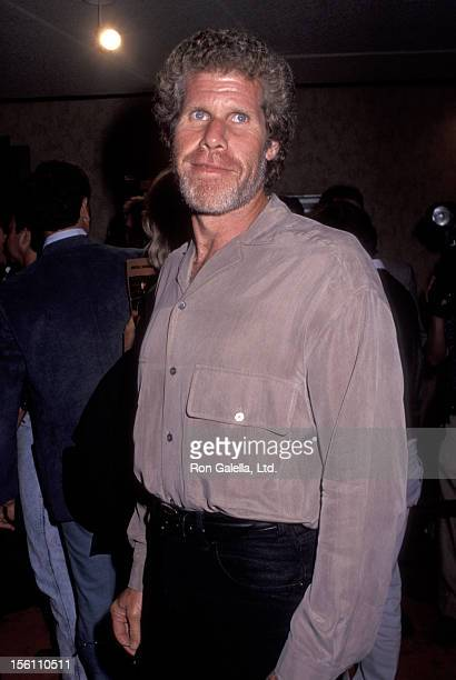 Actor Ron Perlman attends the screening of 'Unforgiven' on August 3 1992 at Mann Bruin Theater in Westwood California