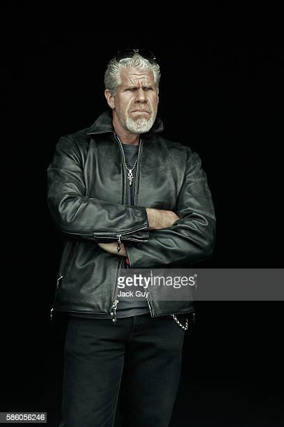 Actor Ron Perlman is photographed for Emmy Magazine on April 26 2012 in Los Angeles California