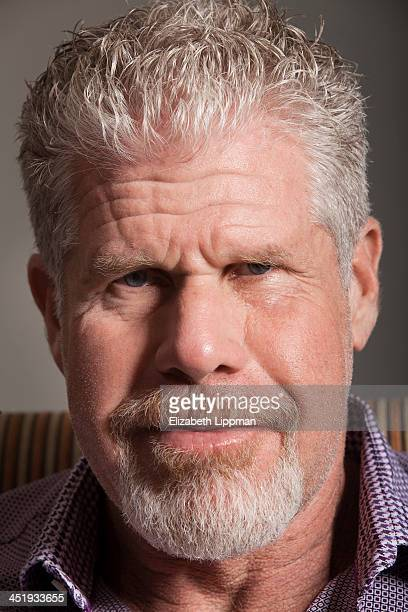 Actor Ron Perlman is photographed for Wall Street Journal on October 8 2013 in New York City