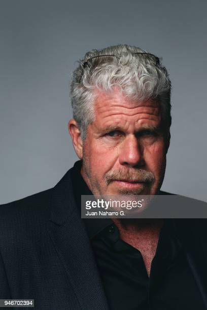 Actor Ron Perlman is photographed on self assignment during 21th Malaga Film Festival 2018 on April 15 2018 in Malaga Spain