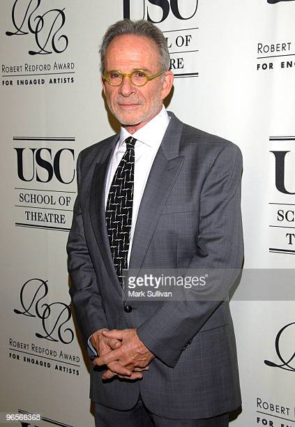 Actor Ron Rifkin arrives for the Robert Redford Award for Engaged Artists Gala at The Beverly Wilshire Hotel on February 10 2010 in Beverly Hills...
