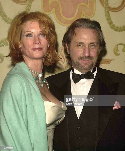 Actor Ron Silver and Catherine de Castelbajac arrive for the 2002 PEN Literary Gala April 24, 2002 in New York City.
