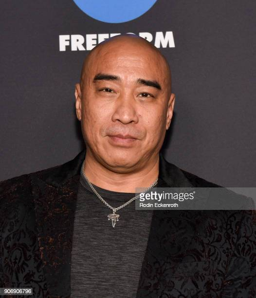 Actor Ron Yuan of 'Beyond' arrives at Freeform Summit on January 18 2018 in Hollywood California