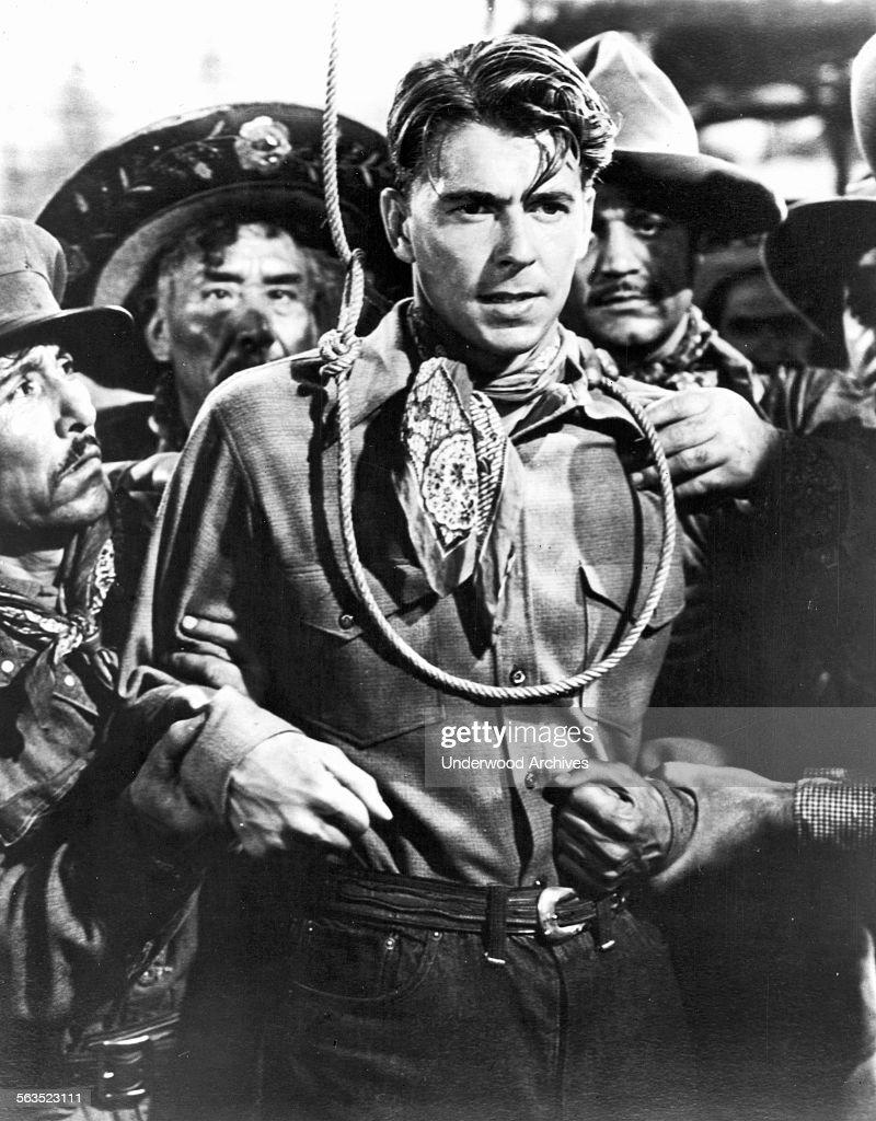 Reagan Western Film Still : News Photo