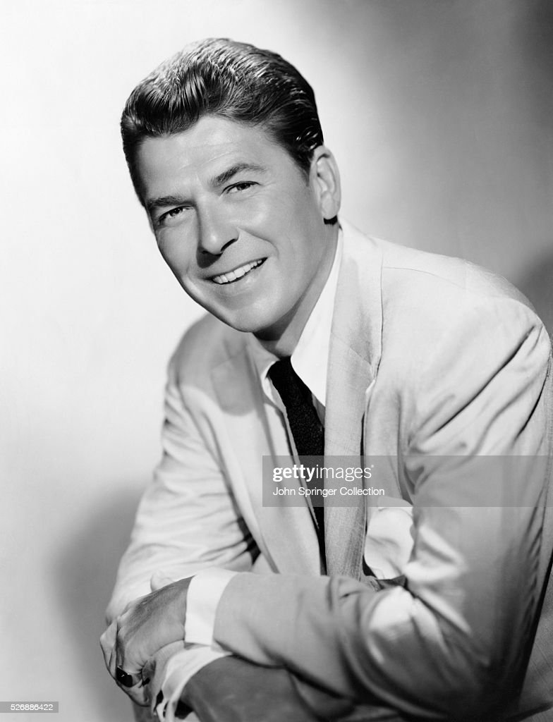 Actor Ronald Reagan