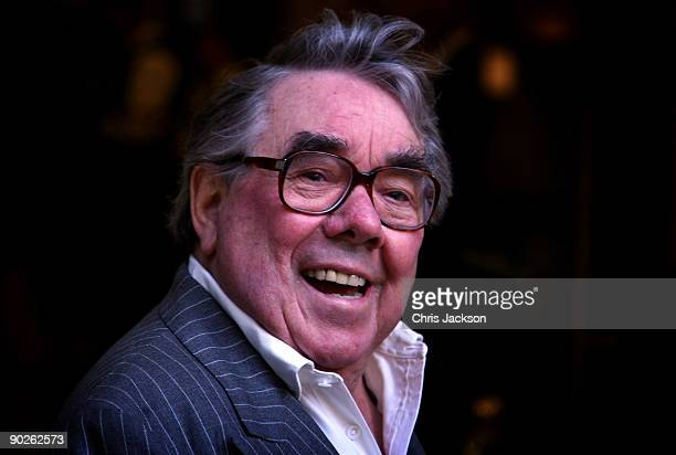 Actor Ronnie Corbett arrives at the opening of the new Greens restaurant and Oyster Bar on September 1, 2009 in London, England.