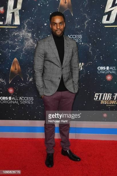Actor Ronnie Rowe Jr attends the Star Trek Discovery Season 2 Premiere at the Conrad New York on January 17 2019 in New York City