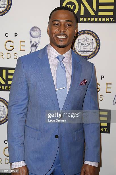 Actor RonReaco Lee arrives at the 48th NAACP Image Awards Nominees' Luncheon at Loews Hollywood Hotel on January 28 2017 in Hollywood California