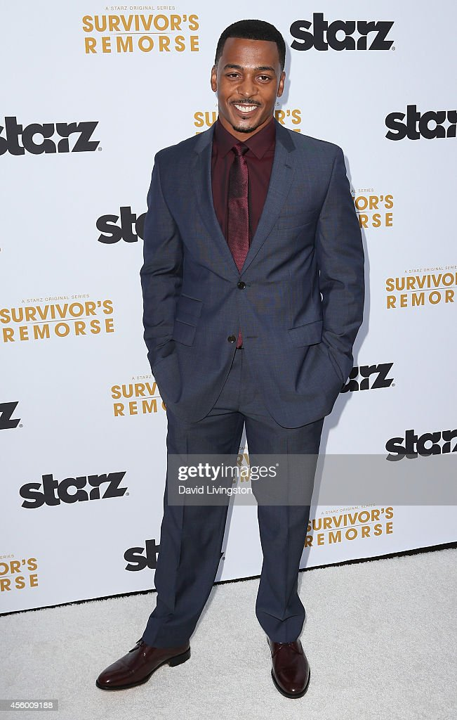 Actor RonReaco Lee attends the premiere of Starz 'Survivor's Remorse' at the Wallis Annenberg Center for the Performing Arts on September 23, 2014 in Beverly Hills, California.