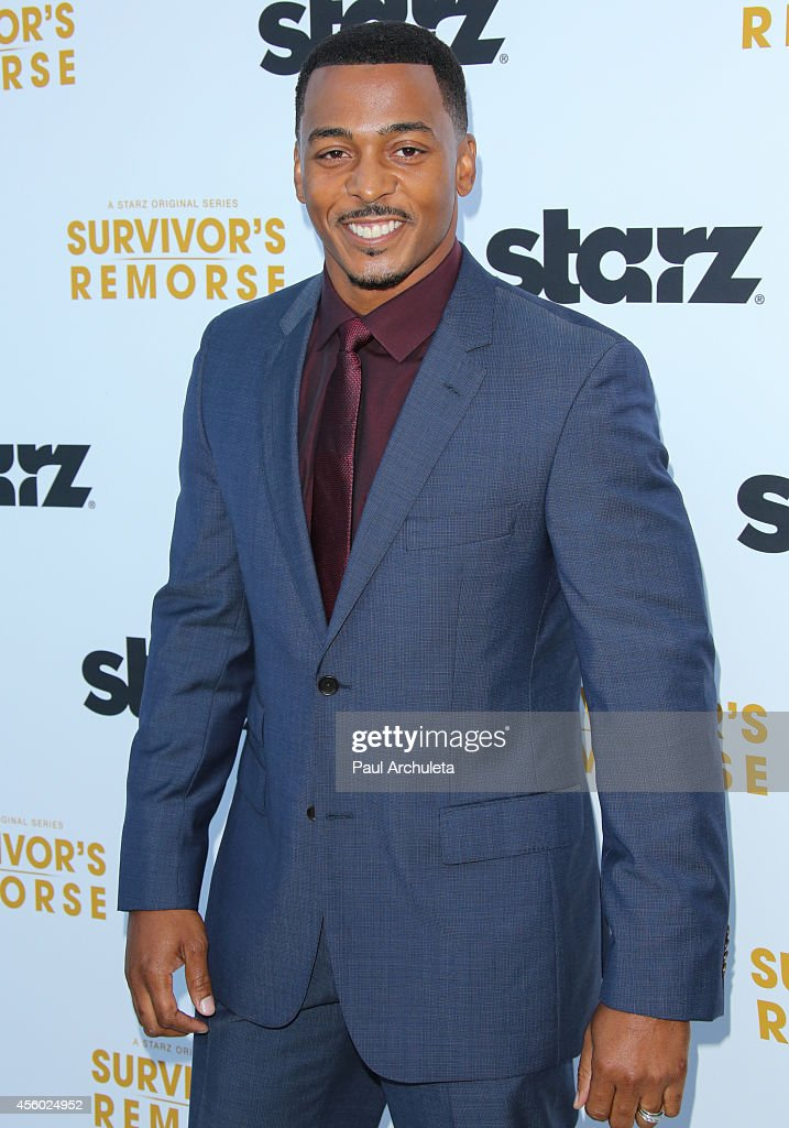 Actor RonReaco Lee attends the STARZ new series 'Survivor's Remorse' premiere at the Wallis Annenberg Center for the Performing Arts on September 23, 2014 in Beverly Hills, California.