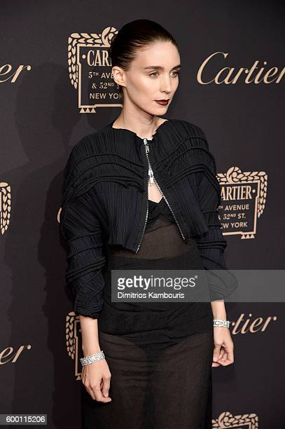 Actor Rooney Mara attends the Cartier Fifth Avenue Grand Reopening Event at the Cartier Mansion on September 7 2016 in New York City
