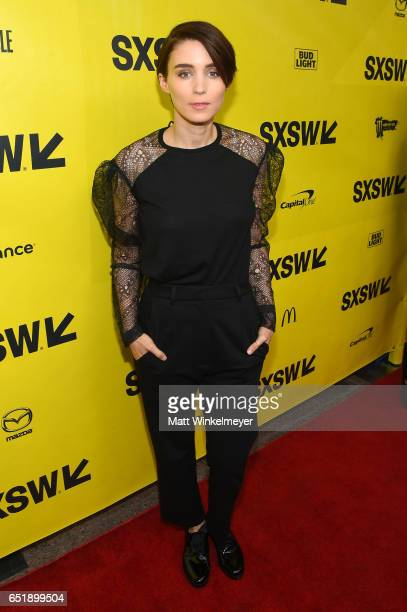Actor Rooney Mara attends the premiere of 'Song to Song' during 2017 SXSW Conference and Festivals at Paramount Theatre on March 10 2017 in Austin...