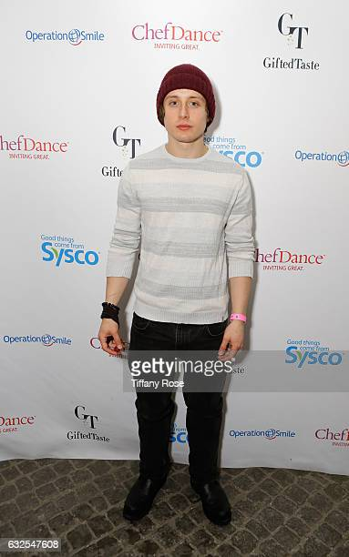 Actor Rory Culkin attends ChefDance and Operation Smile on January 23 2017 in Park City Utah