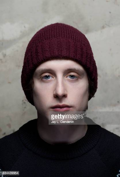 Actor Rory Culkin from the film Columbus is photographed at the 2017 Sundance Film Festival for Los Angeles Times on January 22 2017 in Park City...