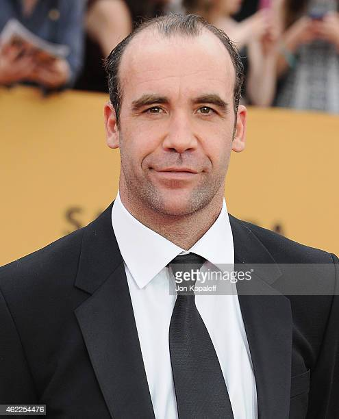 Actor Rory McCann arrives at the 21st Annual Screen Actors Guild Awards at The Shrine Auditorium on January 25 2015 in Los Angeles California