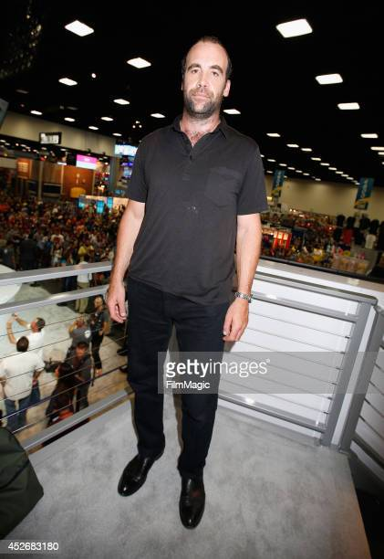 Actor Rory McCann attends HBO's Game of Thrones cast autograph signing during ComicCon 2014 on July 25 2014 in San Diego California