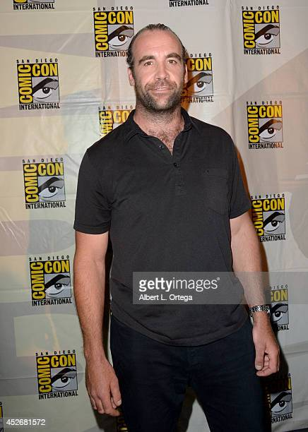 Actor Rory McCann attends HBO's 'Game Of Thrones' panel and QA during ComicCon International 2014 at San Diego Convention Center on July 25 2014 in...