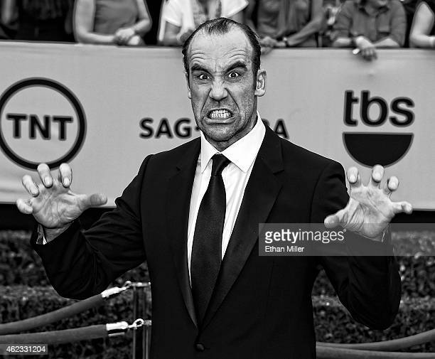 Actor Rory McCann attends the 21st Annual Screen Actors Guild Awards at The Shrine Auditorium on January 25 2015 in Los Angeles California