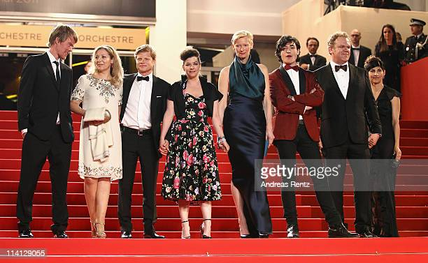 Actor Rory Stewart Kinnear guest producer Luc Roeg director/writer Lynne Ramsay actress Tilda Swinton actor Ezra Miller actor John C Reilly and...