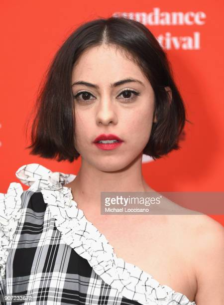 Actor Rosa Salazar attends the The Kindergarten Teacher Premiere during the 2018 Sundance Film Festival at Park City Library on January 19 2018 in...
