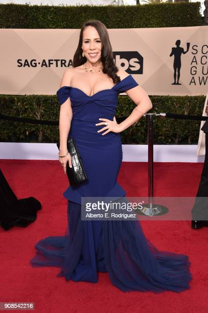 Actor Rosal Colon Attends The 24th Annual Screen Actors Guild Awards At Shrine Auditorium On