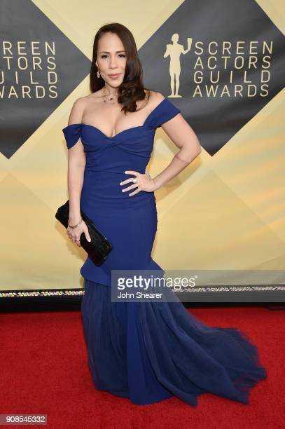 Actor Rosal Colon attends the 24th Annual Screen Actors Guild Awards at The Shrine Auditorium on January 21, 2018 in Los Angeles, California.