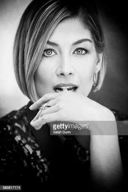 Actor Rosamund Pike is photographed for Empire magazine on March 30 2014 in London England