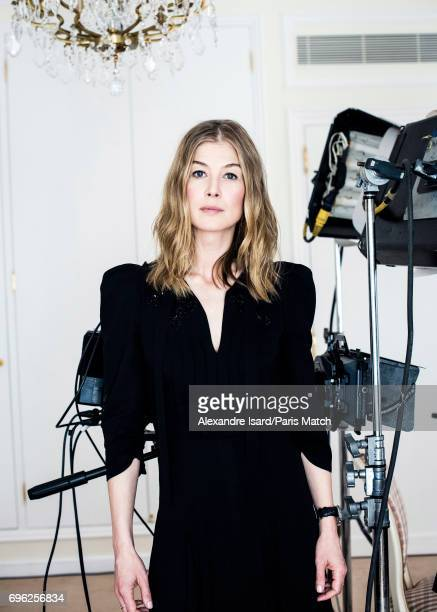 Actor Rosamund Pike is photographed for Paris Match on May 10 2017 in Paris France