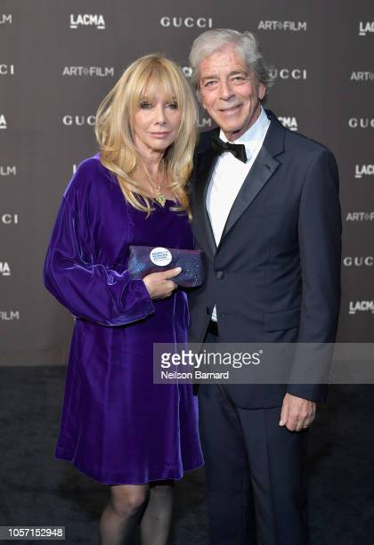 Actor Rosanna Arquette and businessman Todd Morgan attend 2018 LACMA Art Film Gala honoring Catherine Opie and Guillermo del Toro presented by Gucci...