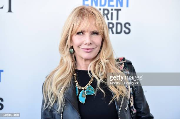 Actor Rosanna Arquette attends the 2017 Film Independent Spirit Awards at the Santa Monica Pier on February 25 2017 in Santa Monica California