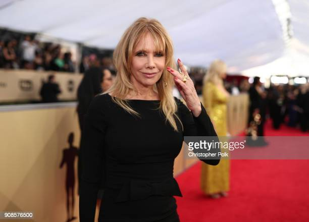 Actor Rosanna Arquette attends the 24th Annual Screen Actors Guild Awards at The Shrine Auditorium on January 21 2018 in Los Angeles California...